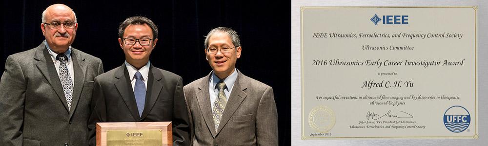 IEEE Ultrasonics Award 2016